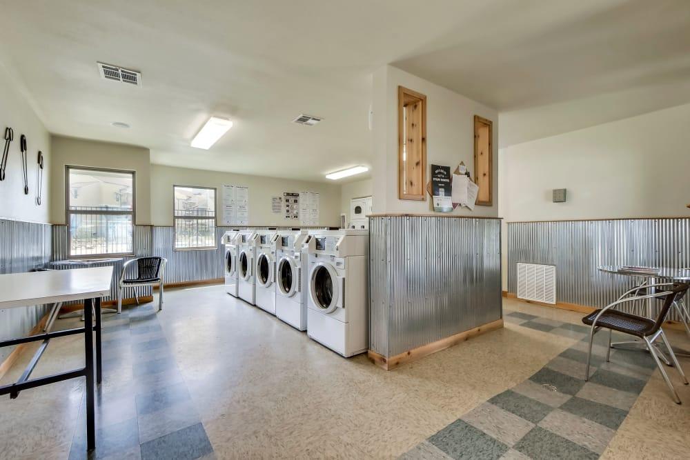 Laundry facility at Nichols Park in Austin, Texas