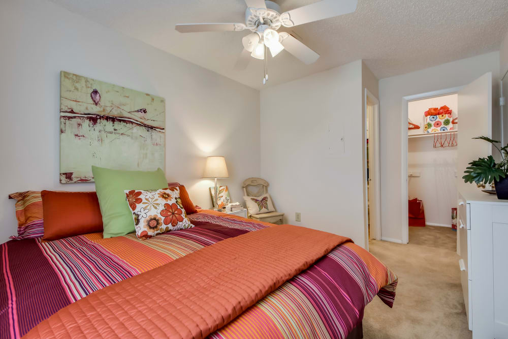 Bedroom at Nichols Park in Austin, Texas