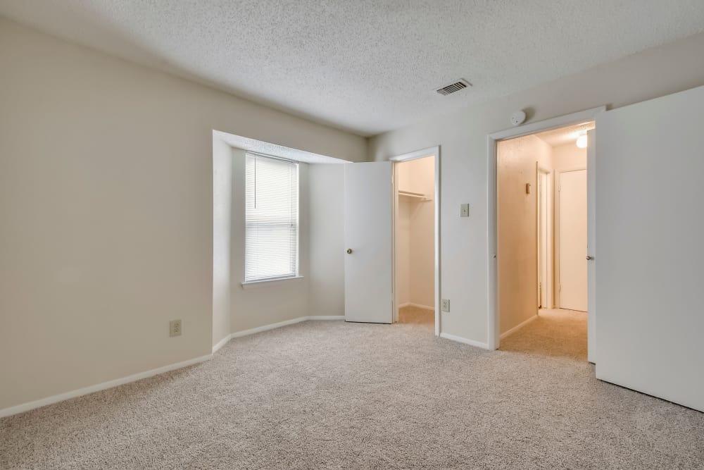 Spacious living room at Nichols Park in Austin, Texas