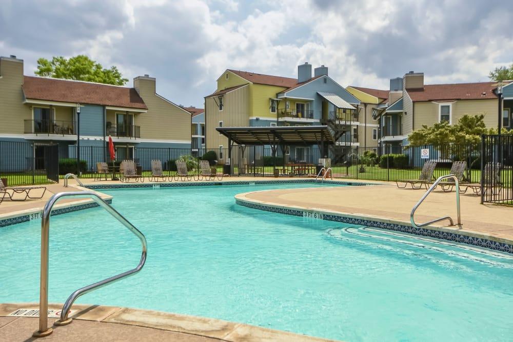 Swimming pool at Nichols Park in Austin, Texas