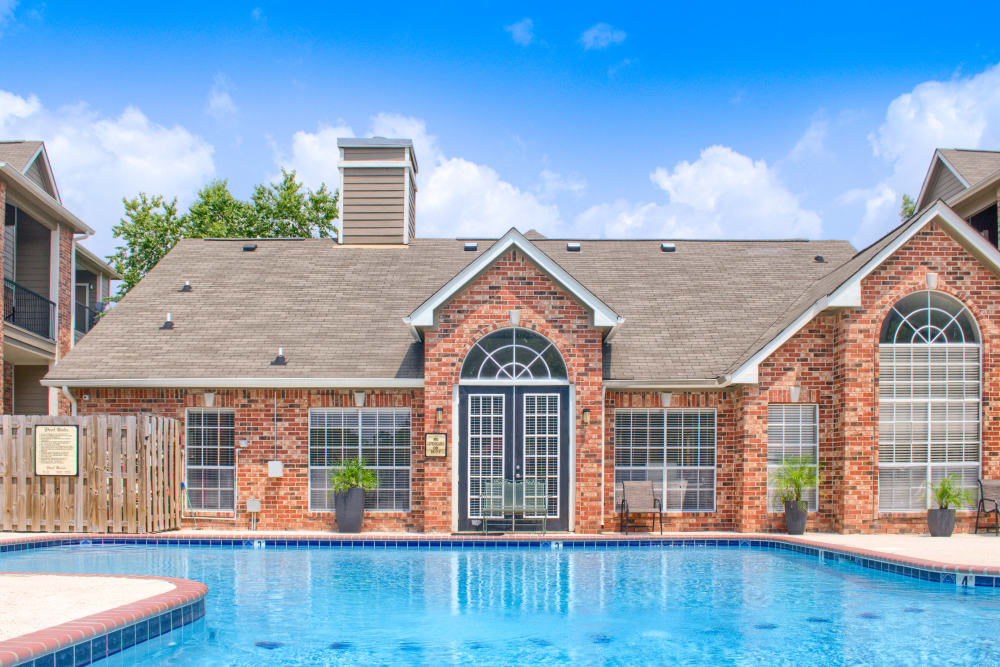 Sparkling pool at The Lexington Apartment Homes in Biloxi, Mississippi