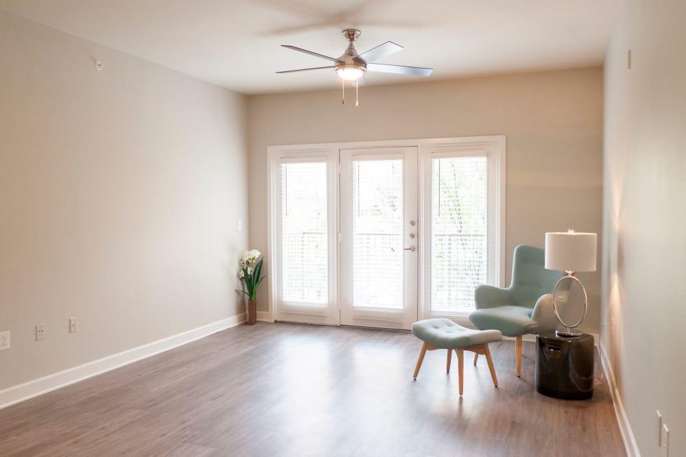 Living room at Addison Keller Springs in Addison, Texas