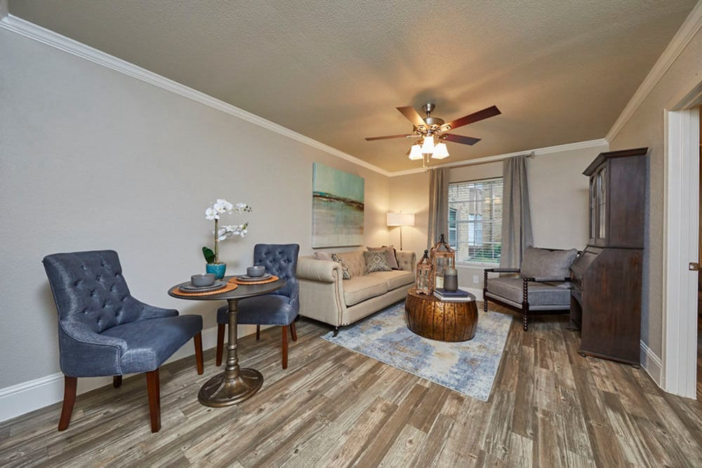 Beautiful apartments ready for move-in at Emerson on Harvest Hill in Dallas, Texas.