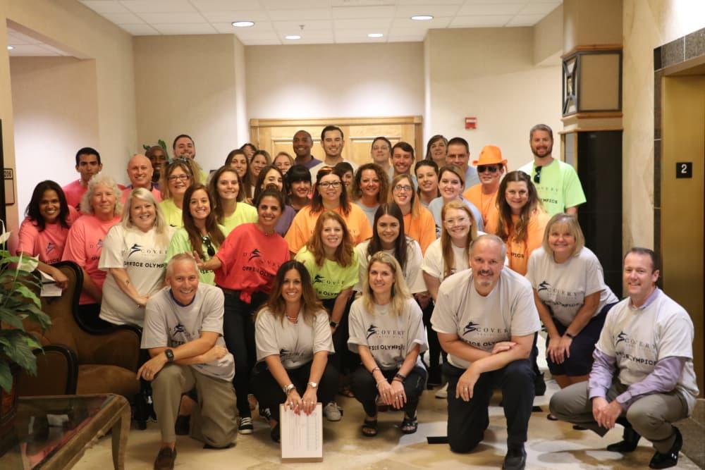 The staff at Discovery Senior Living in Bonita Springs, Florida