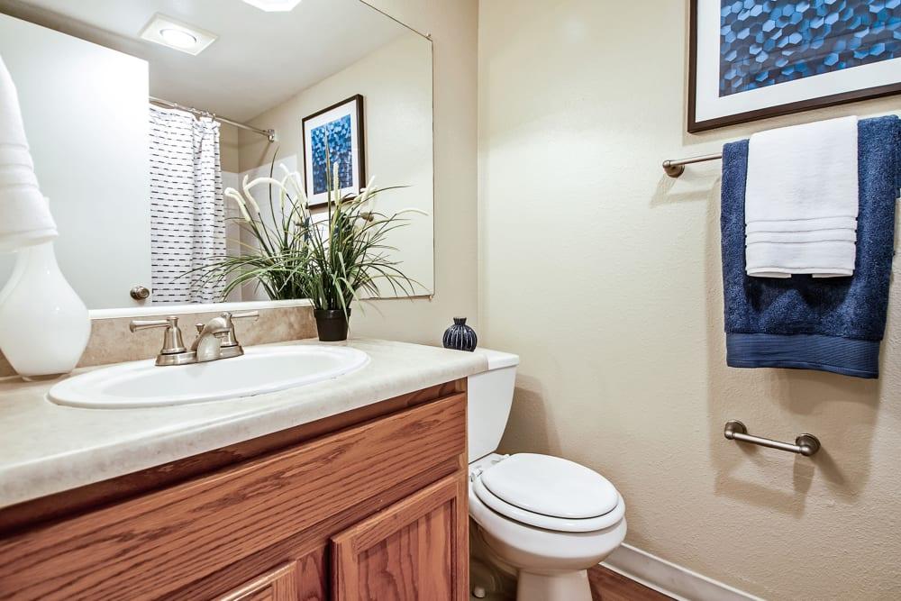 Bathroom at Broadmoor Ridge Apartment Homes in Colorado Springs, Colorado