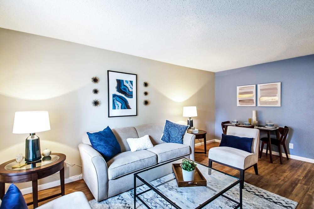 Living Room at Broadmoor Ridge Apartment Homes in Colorado Springs, CO
