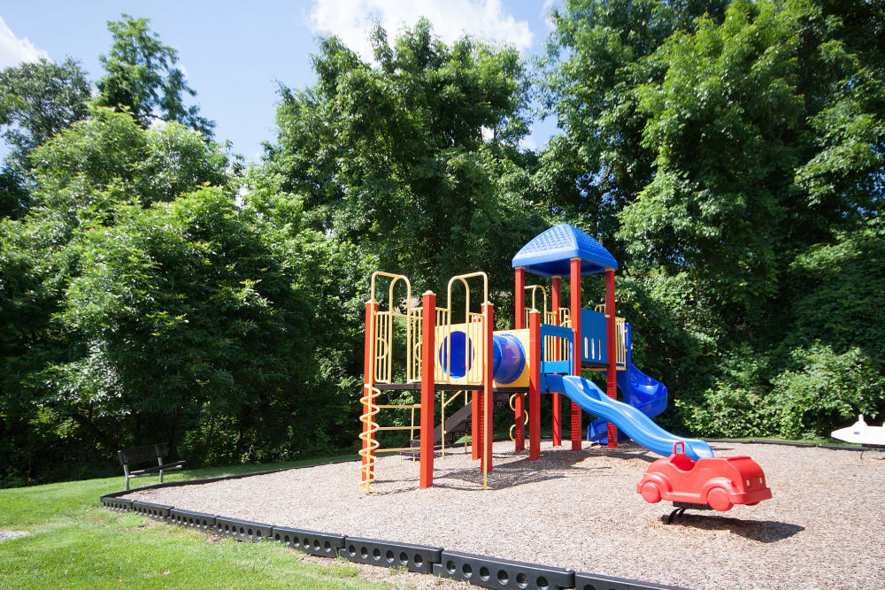 Playground at The Brittany Apartments in Pikesville, Maryland