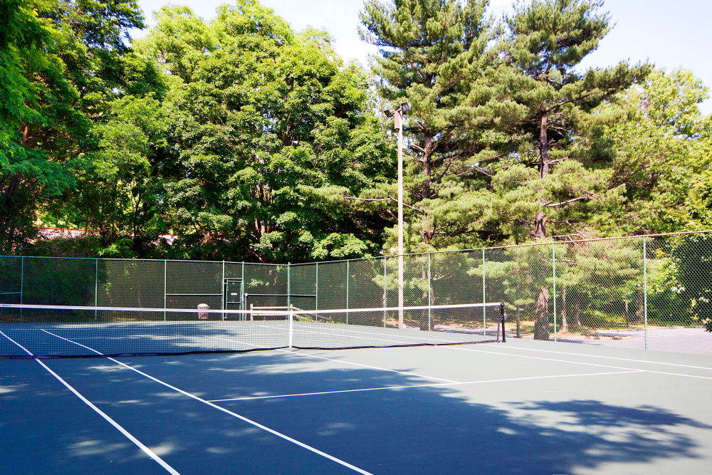 Tennis court at The Brittany Apartments in Pikesville, Maryland