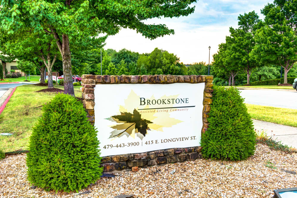 Welcome to Brookstone Assisted Living Community in Fayetteville