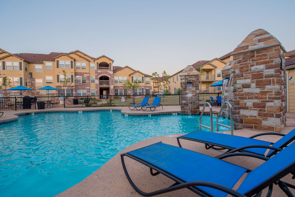 Swimming pool at Villas at Canyon Ranch in Yukon, Oklahoma