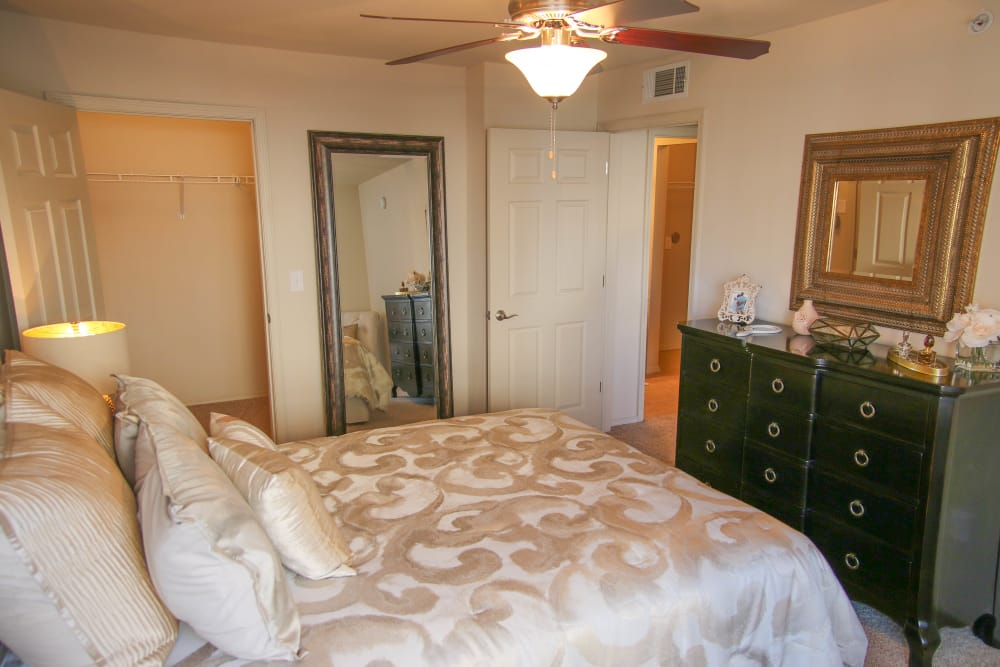 Bedroom at Colonies at Hillside in Amarillo, Texas