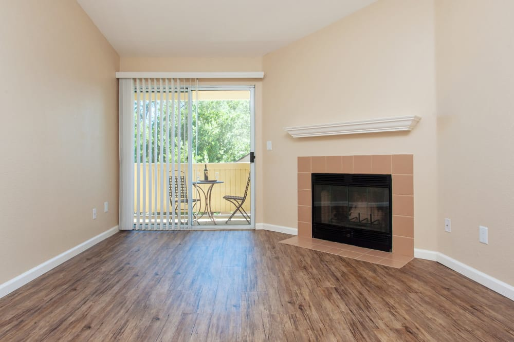 Fireplace at Heather Ridge in Orangevale, California