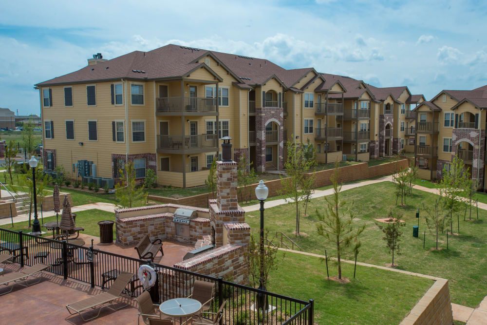 Apartment buildings at Park at Tuscany in Oklahoma City, Oklahoma