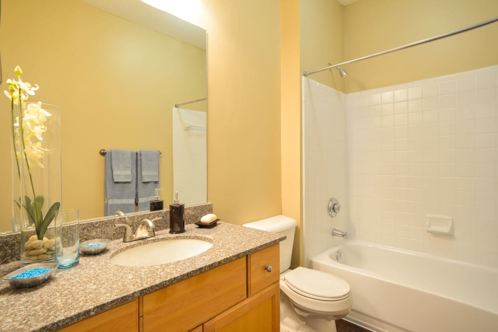 Bathroom at Highland Square in Atlanta, Georgia