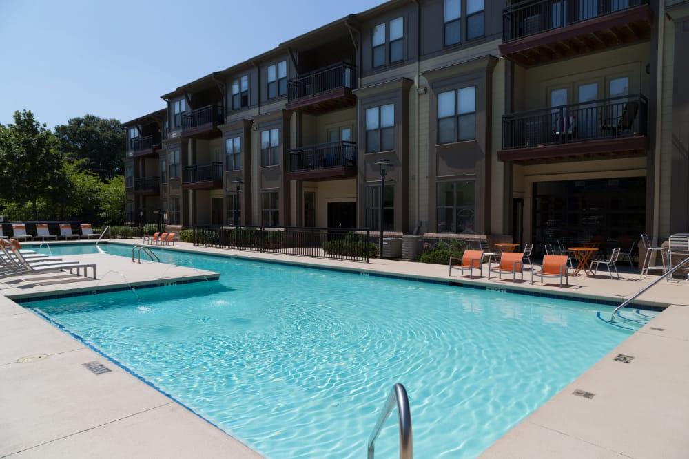 Swimming pool at M Street in Atlanta, Georgia