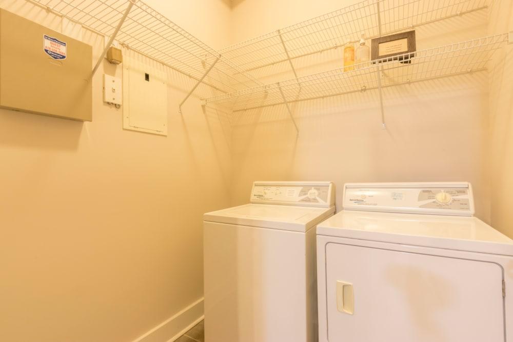 Laundry facility at M Street in Atlanta, Georgia