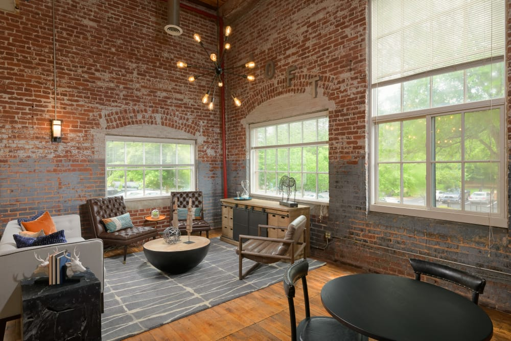 Clubhouse at Newnan Lofts Apartment Homes in Newnan, Georgia