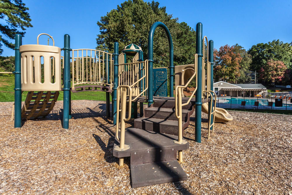 Playground at Villages of Lake Boone Trail in Raleigh, North Carolina