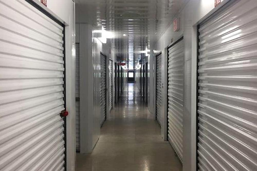 Clean interior storage units at The Keep - Vance Jackson in San Antonio, Texas