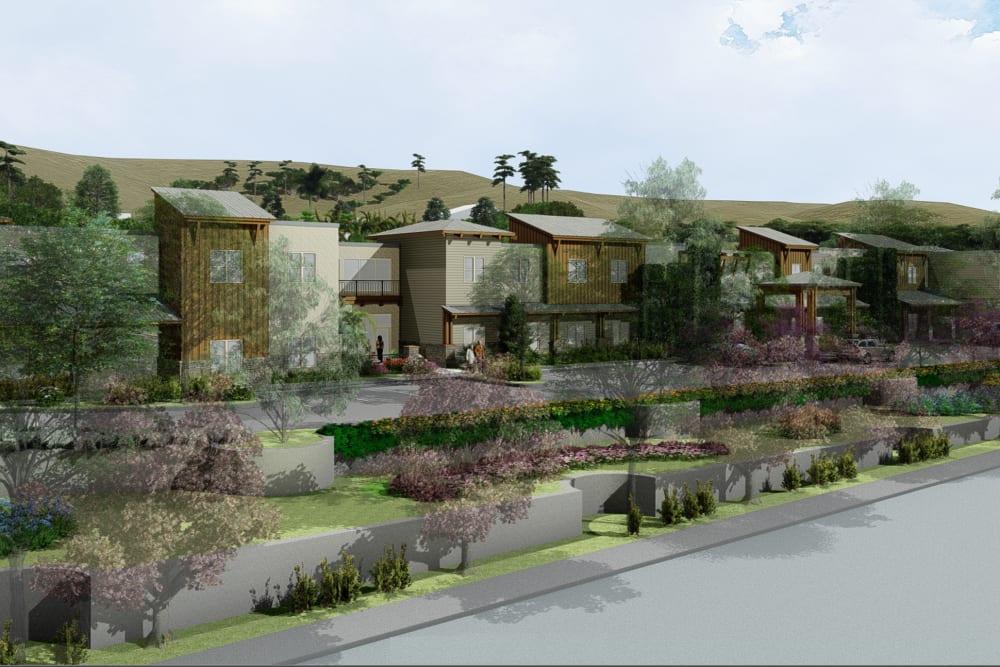 Side view of Westmont of Encinitas in Encinitas, California
