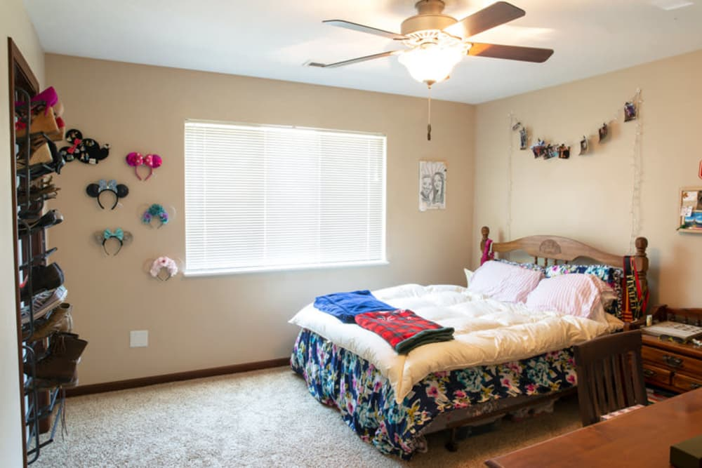 Spacious bedroom at South Maple in Ames, Iowa