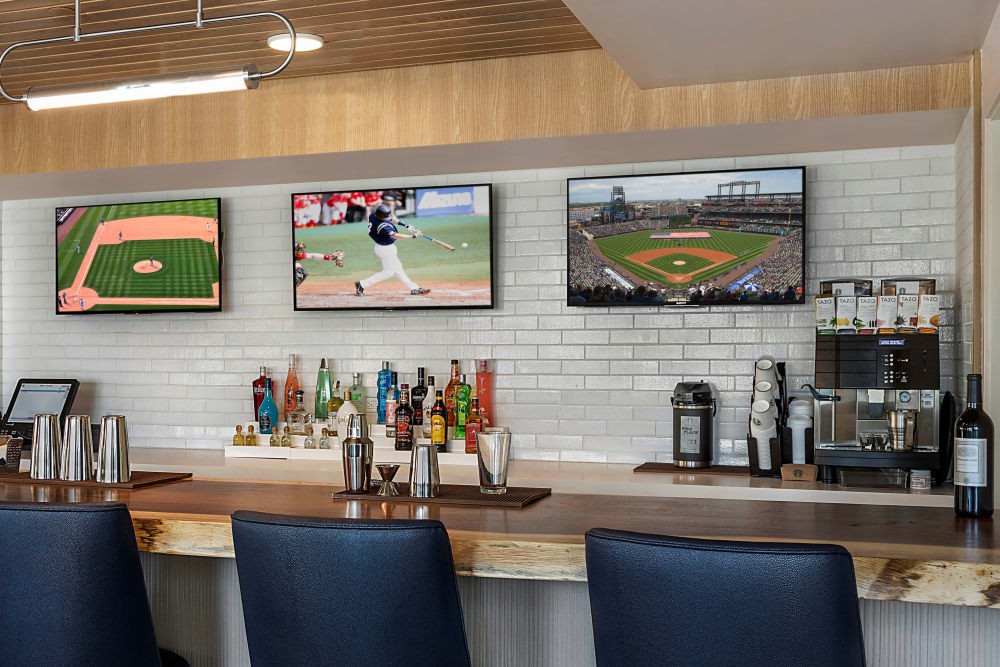 Enjoy the bar at Clearwater at Riverpark in Oxnard, California