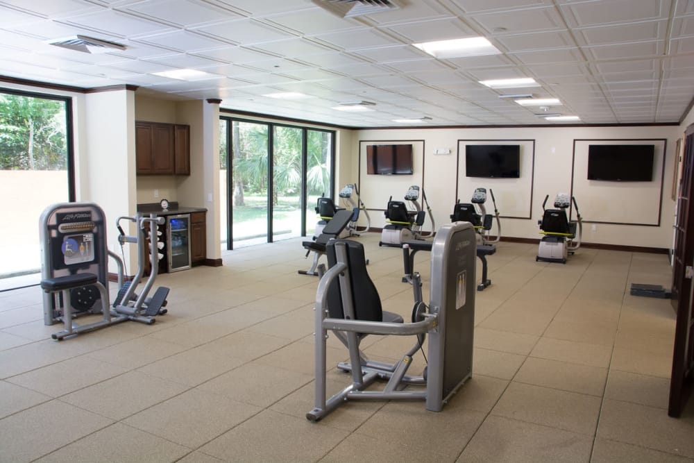 Exercise facility at our senior living facility in Lauderhill, Florida