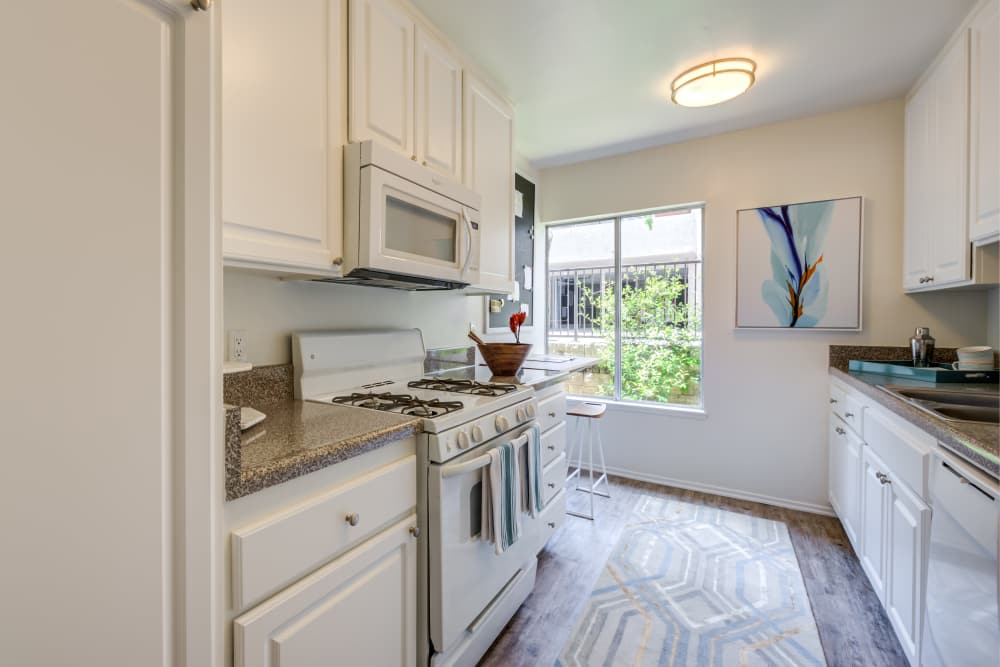 Newly updated apartments with energy-efficient appliances in Thousand Oaks, California