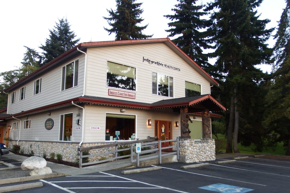 Exterior at Angeles Clinic For Animals in Port Angeles, Washington