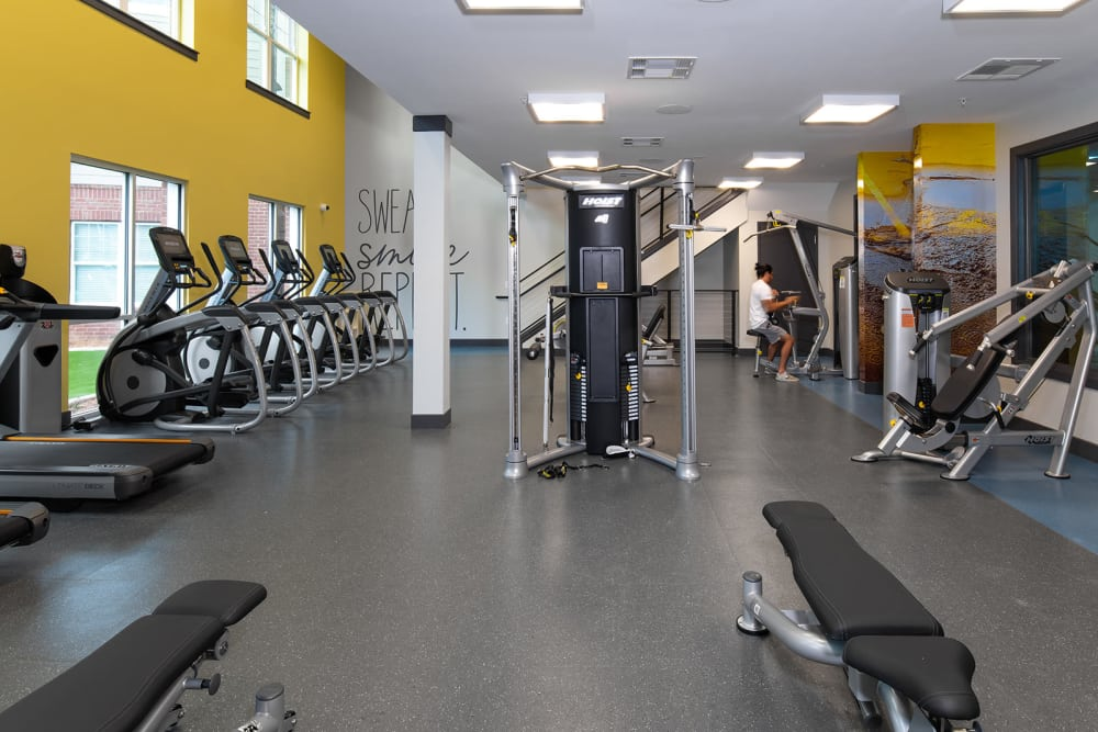 Work out and cardio area at Quantum on West Call