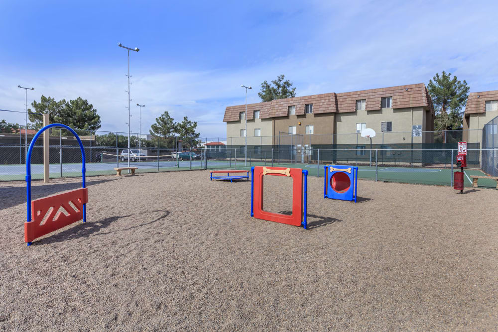 Verde Apartments offers a dog park in Tucson, Arizona