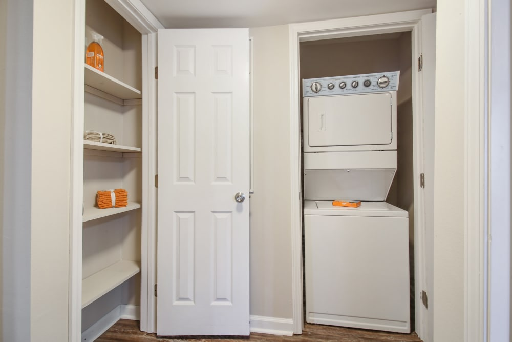Laundry room at Emerald Pointe Apartment Homes