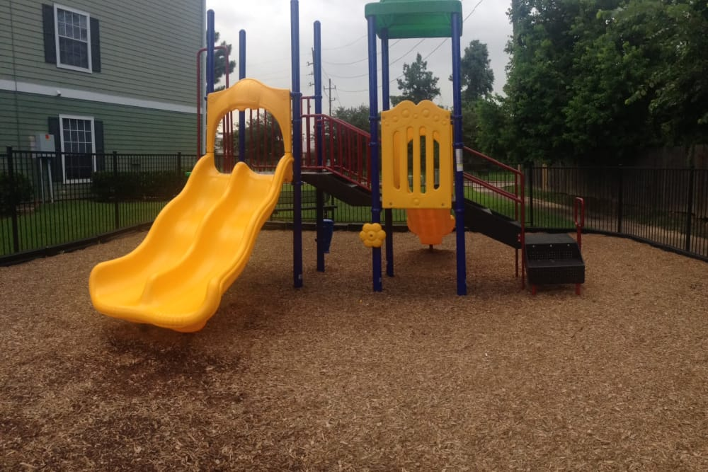 Playground area at Parc @ Champion Forest in Houston, Texas