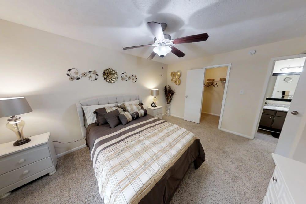 Cozy bedroooms at Cedar Ridge Apartments in Baytown, TX