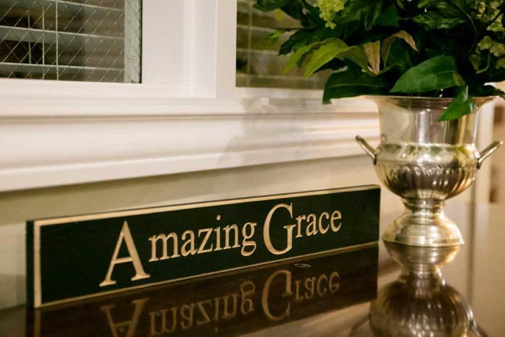 Amazing Grace at Grace Manor Assisted Living in Nashville, Tennessee