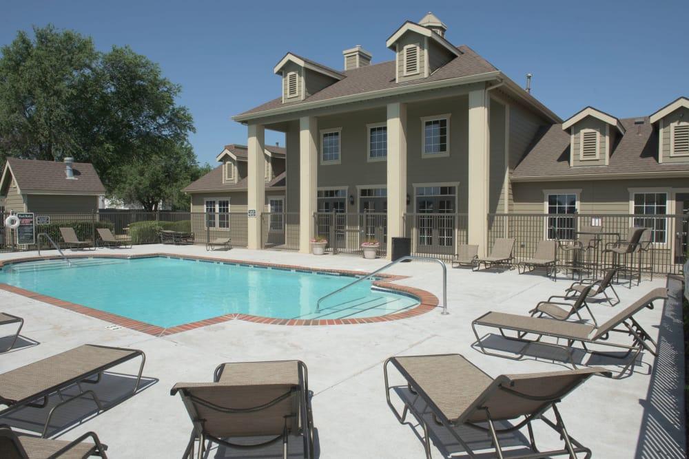 Stately pool at Newport Wichita in Wichita, Kansas