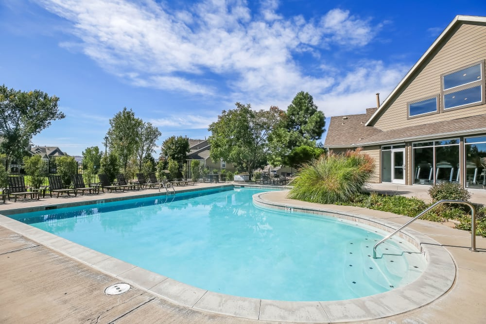 The Pines at Castle Rock Apartments offers a Swimming Pool in Castle Rock, Colorado