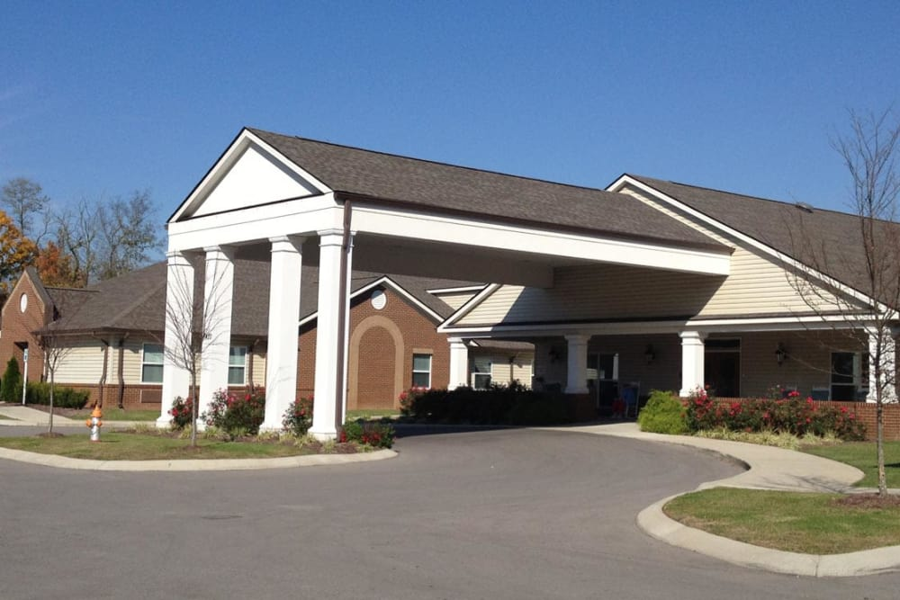 Exterior view of Grace Manor Assisted Living in Nashville, Tennessee