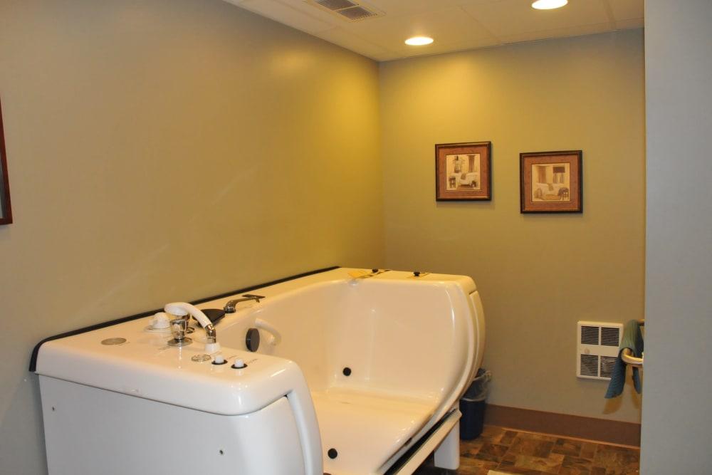 Tub room at The Glenn Buffalo in Buffalo, Minnesota