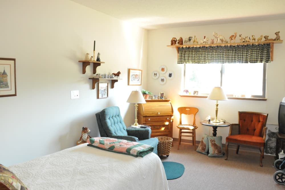 Resident room at The Glenn Buffalo in Buffalo, Minnesota