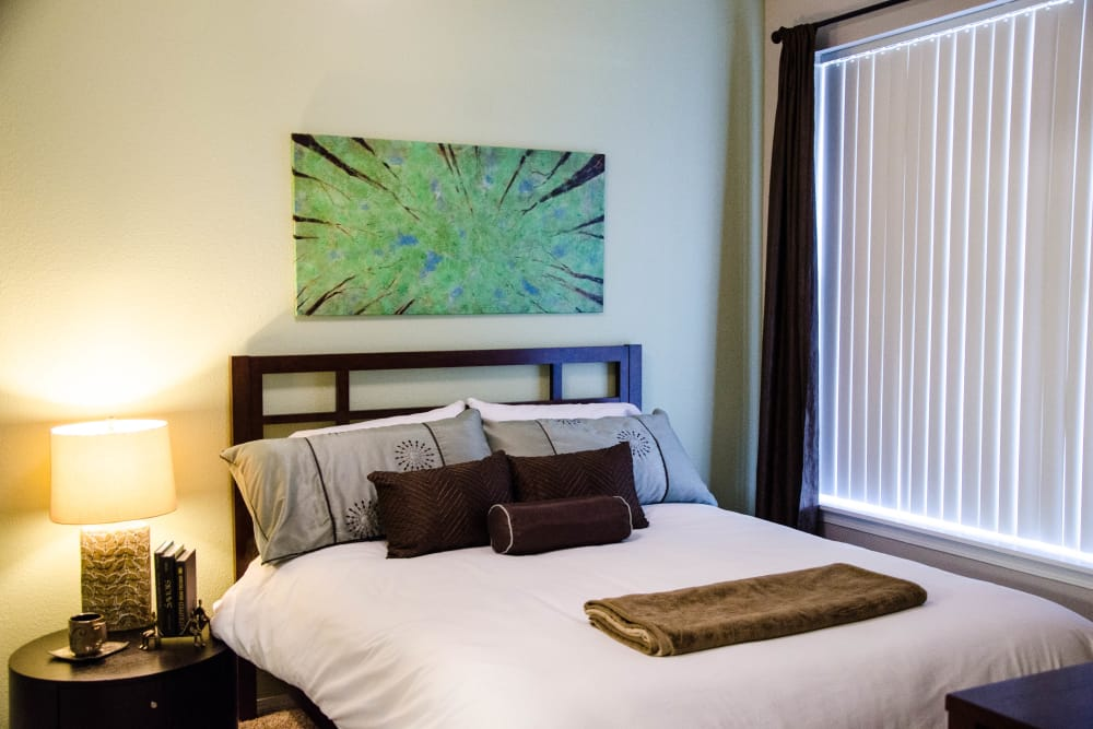 Master Bedroom at Wildreed Apartments