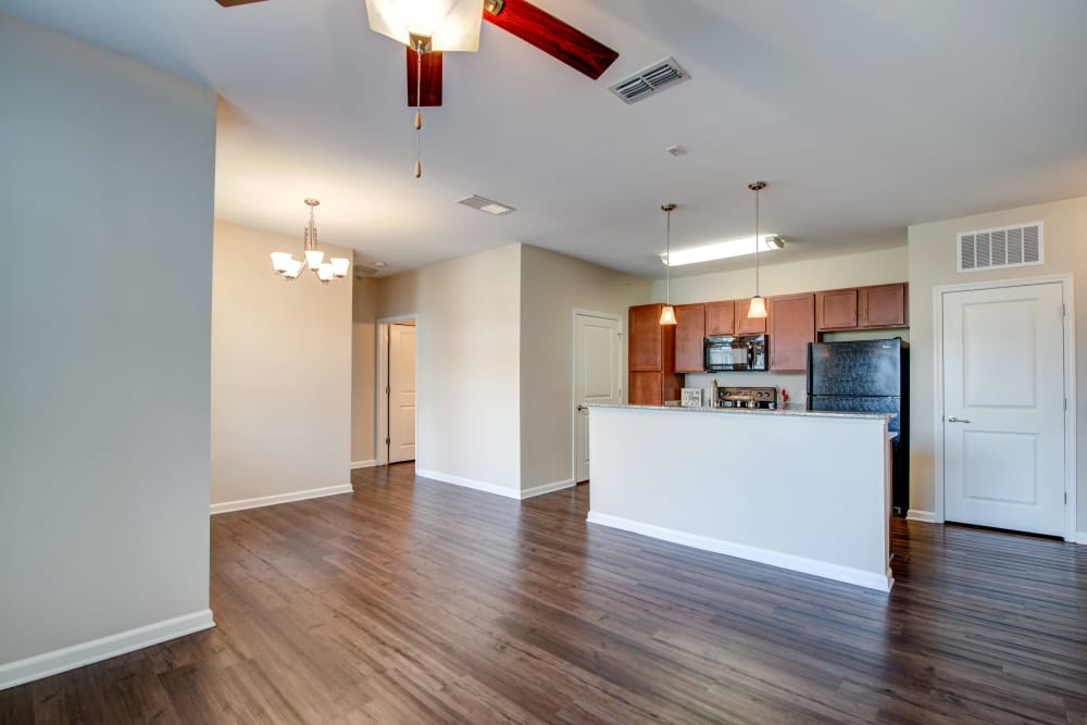 Our apartments in Hendersonville, Tennessee showcase a spacious living room