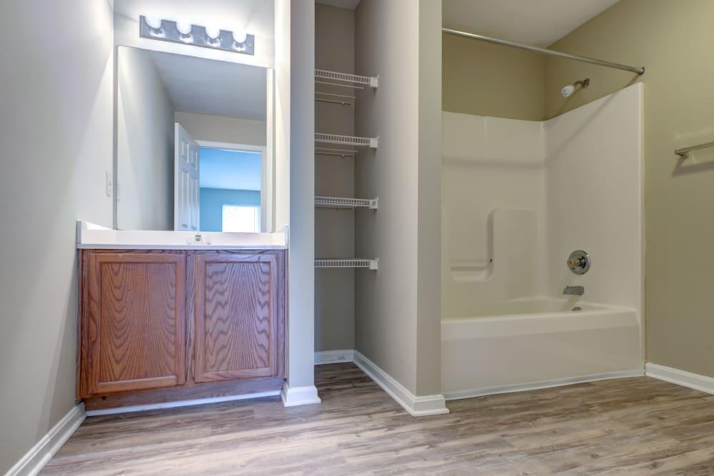 Cooper Creek offers a beautiful bathroom in Louisville, Kentucky