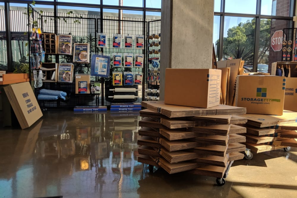 Moving Supplies For Sale at Farmers Market Self Storage