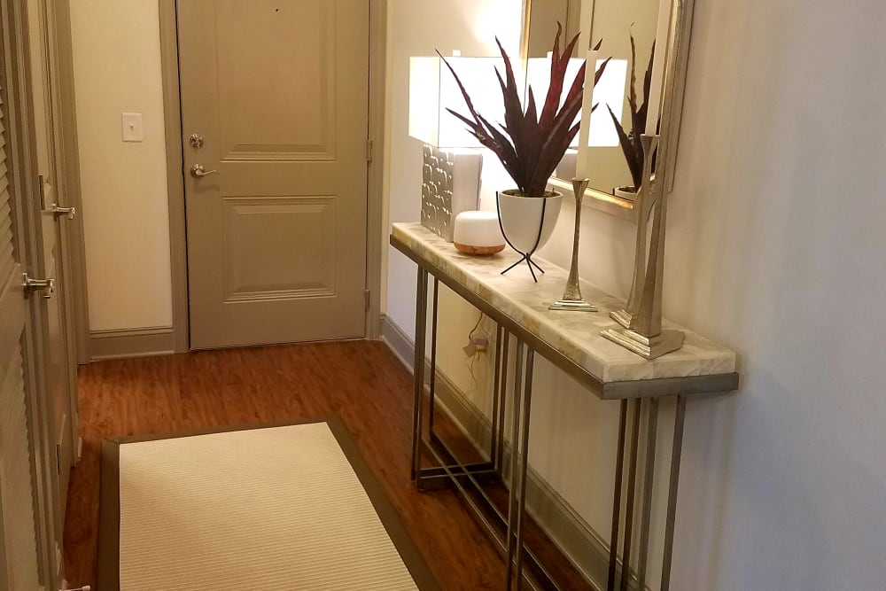 Enjoy our spacious apartments entryway at Waterside Apartments