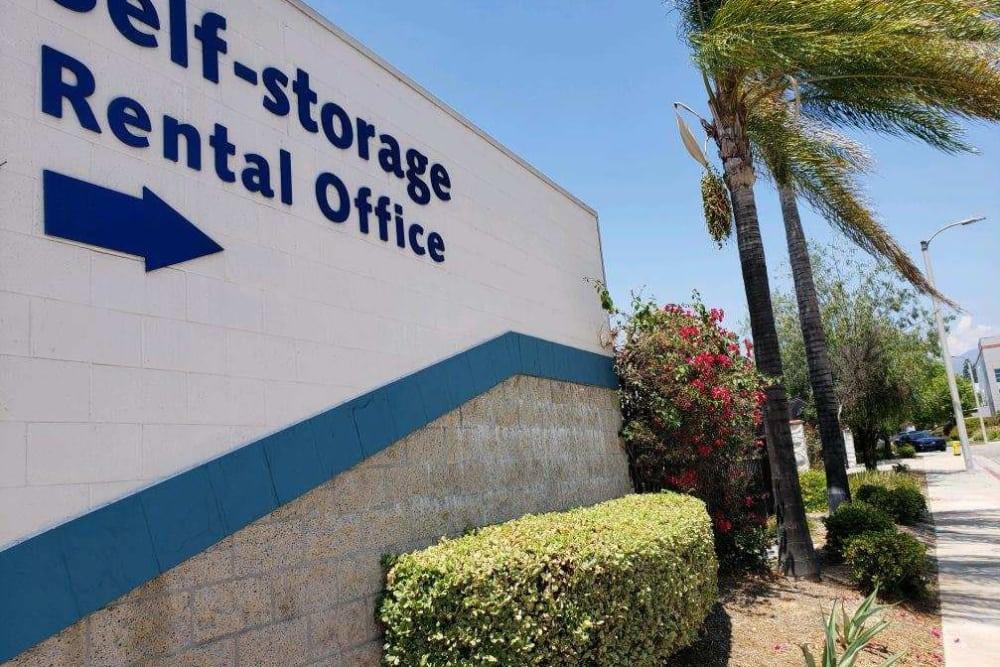 Rental Office at Storage Etc... Pomona