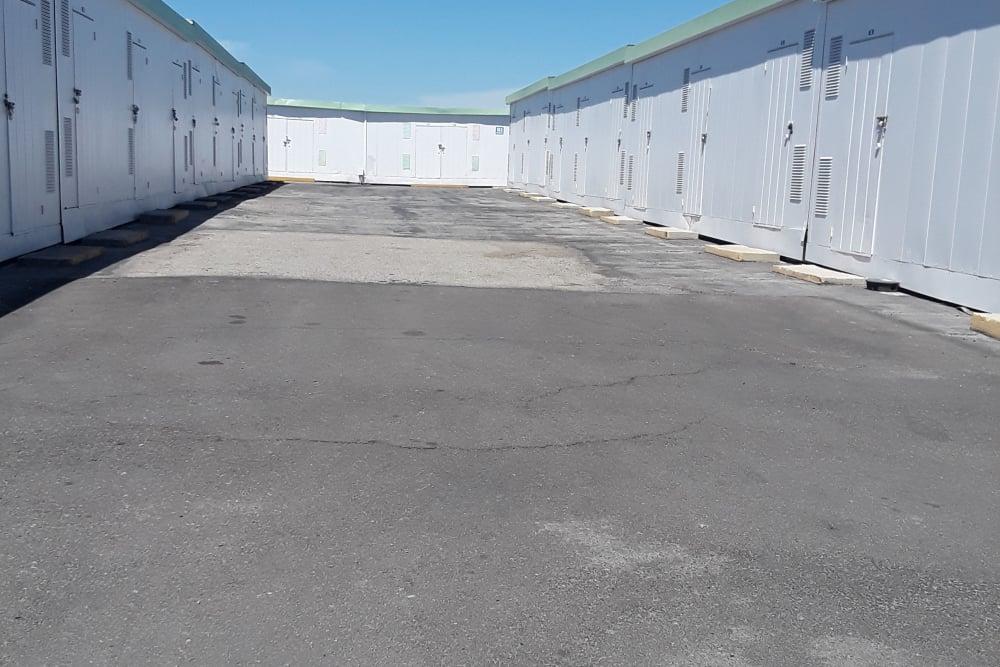 Outdoor Storage Units at Storage Etc... Carson