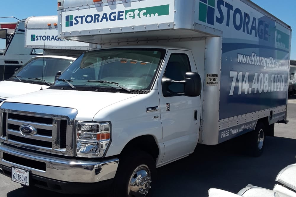 Moving Truck at Storage Etc... Carson