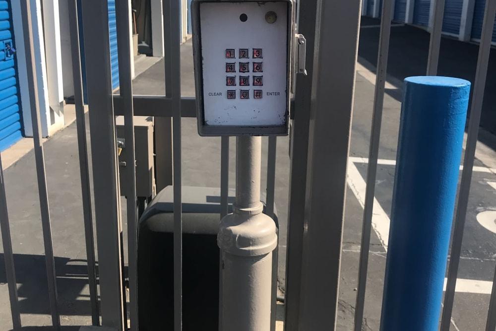 Self Storage Keypad at Storage Etc... Anaheim