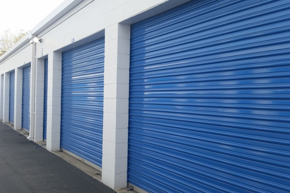 Drive Up Access Outdoor Storage Units at Storage Etc... Diamond Bar